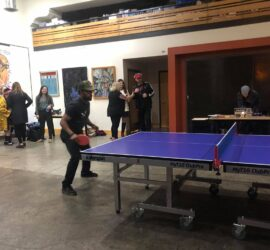 5th Annual SmashDown Ping Pong Invitational with Sabin CDC Community Manager Abel Johnson